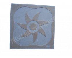 Travertin Classique Décor Gravure 30x30x1 cm Adouci 2