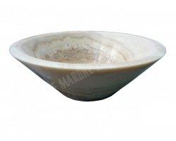 Onyx Miel Vasque Conique Poli 2