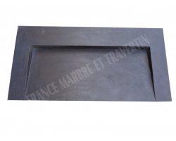 Basalte Noir Évier Design 100x50 cm Adouci
