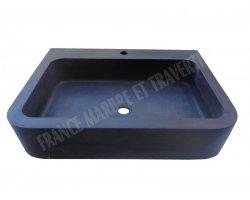 Basalte Noir Evier Cuisine 70x50x15 cm Adouci 2