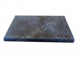 Travertin Noce Nez de Marche 30,5x61x5 cm Arrondi  2