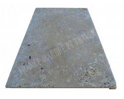Travertin Walnut Nez de Marche 40x60x3 cm Droit  2