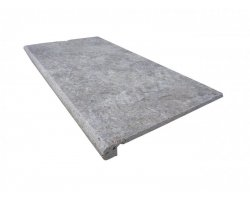 Travertin Silver Nez de Marche 30,5x61x3 cm Arrondi   2