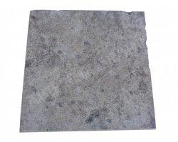 Travertin Silver Nez de Marche 40x40x3 cm Ogee