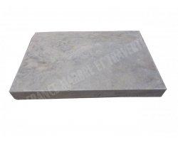 Travertin Silver Nez de Marche 40x60x6 cm Droit