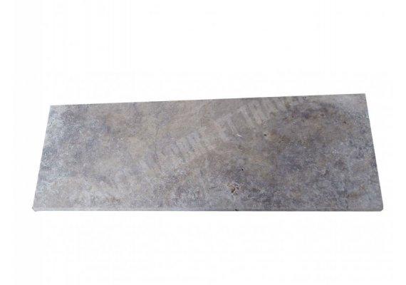 Travertin Silver Marche Escalier 100x40x3 cm Vieilli  1