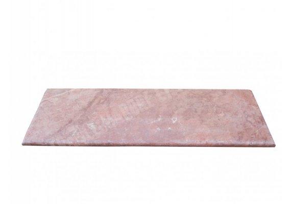 Travertin Rose Marche Escalier 100x30x3 cm Adouci 1