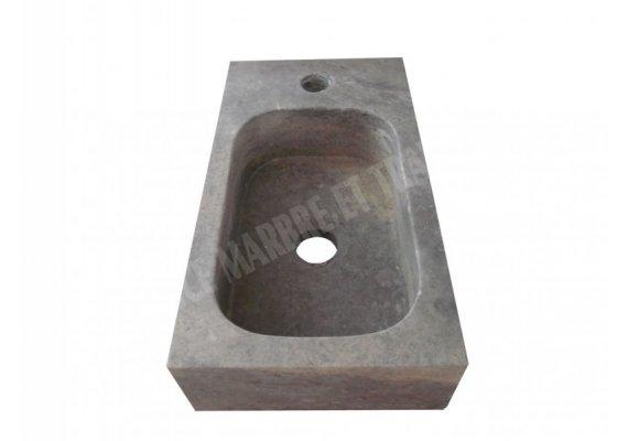 Travertin Silver Lave Main 30x40 cm Adouci 1
