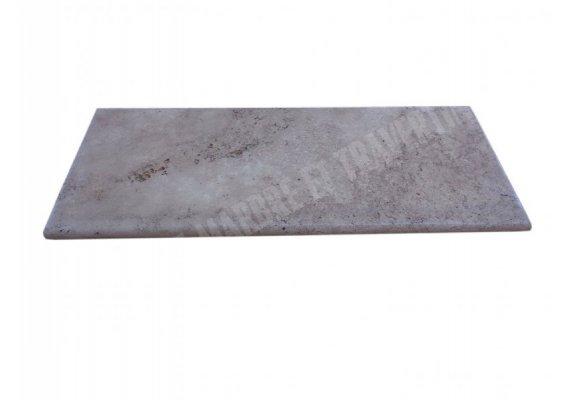 Travertin Walnut Marche Escalier 100x40x3 cm Vieilli  1