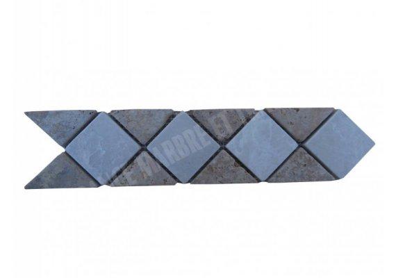 Marbre Frise Beige - Jaune 28x6 cm 1