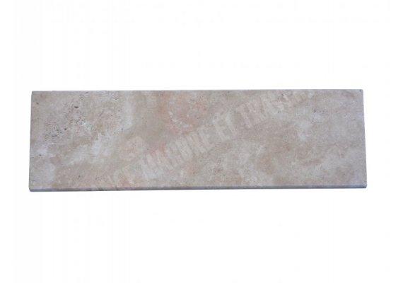 Travertin Beige Marche Escalier 100x30x3 cm Vieilli  1
