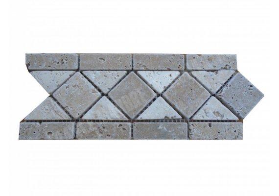 Travertin Frise Noce & Classique 28,5x12 cm  1