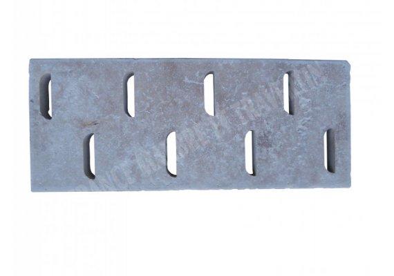 Travertin Classique Grille D 25x61x3 cm   1