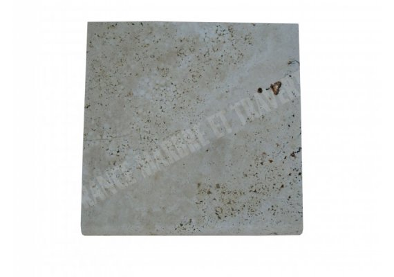 Travertin Classique Margelle 30,5x30,5 5 cm Arrondi 1