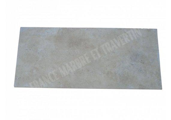 Travertin Beige Plan Vasque 150x65x3 cm 1