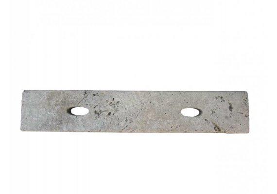 Travertin Classique Grille Ovale 9x50x3 cm  1