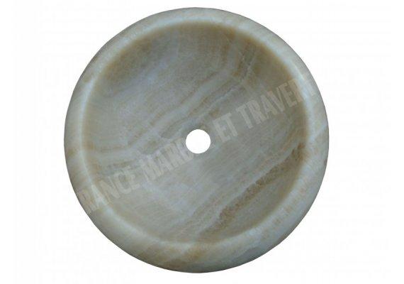 Onyx Caramel Vasque Lentille 2 Poli 1