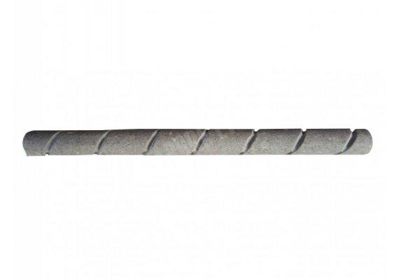 Marbre Vert Moulure Pencil Corde 30x2 cm Adouci 1