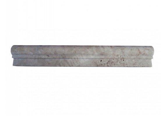 Marbre Marfil Beige Moulure Ogee 1 30x4 cm Adouci 1