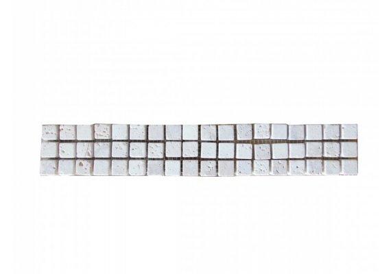 Travertin Frise 1,5x1,5 cm Classique 30x5 cm  1