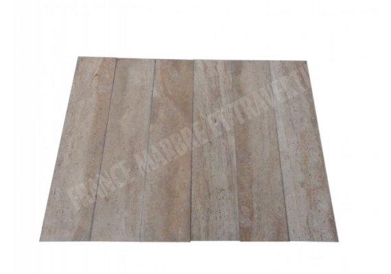Travertin Classique Beige 20x80x1,5 cm Adouci 1