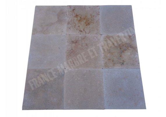 Travertin Classique Beige 45x45x2 cm Antique  1