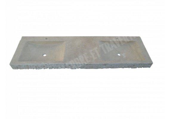 Travertin Classique Évier 150x50 cm Éclate  1
