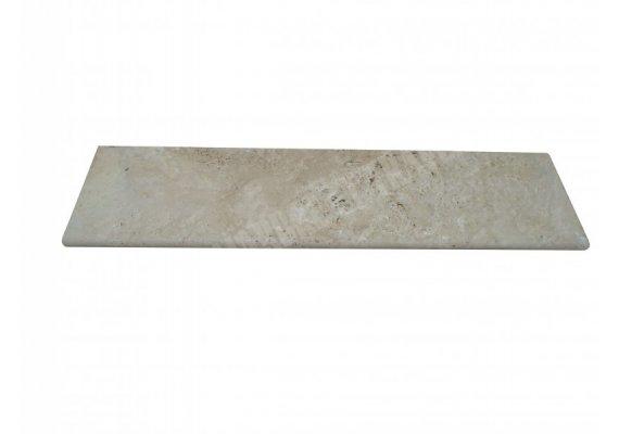 Travertin Beige Marche Escalier 120x33x3 cm Vieilli 1