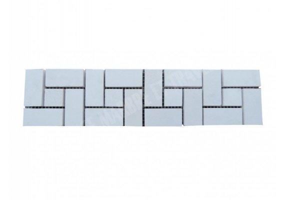 Calcaire Limestone Frise Target 30x8 cm Adouci 1