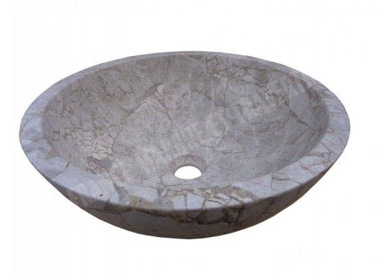 Marbre Silver Shadow Vasque Bol Poli 1