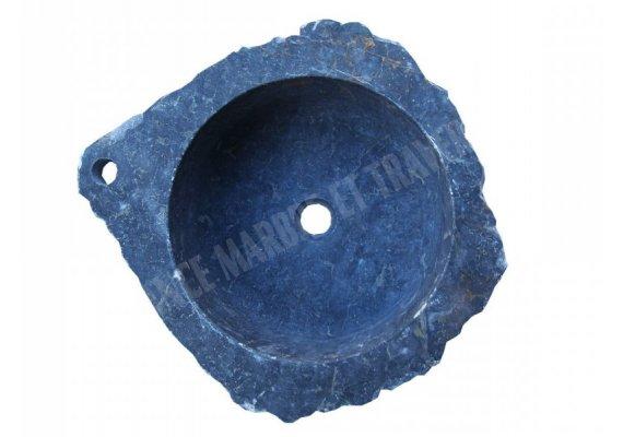Marbre Noir Vasque Lave Main Angle 45x45 cm 1