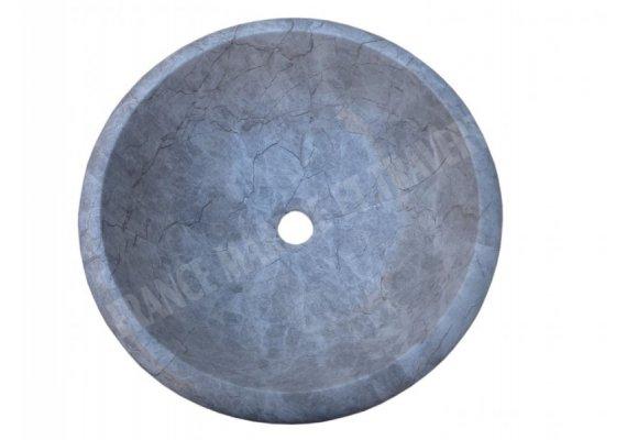 Marbre Gris Silver Shadow Vasque Encastrer Poli 1