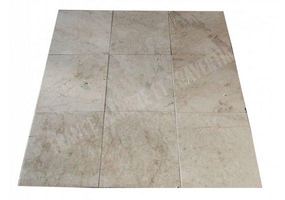 Marbre Marfil Cappuccino 45x45x1,2 cm Brossé  1