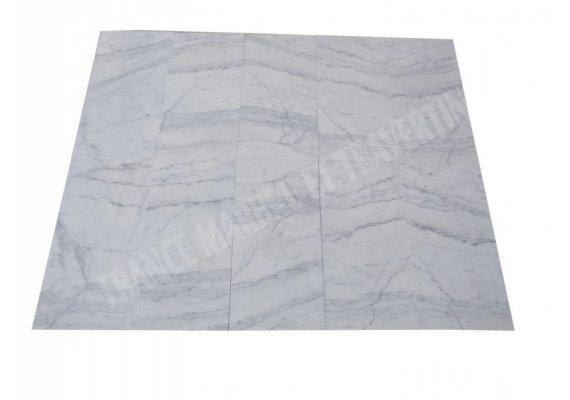 Marbre Carrare Texture Turque 30x60x1,2 cm Adouci 1