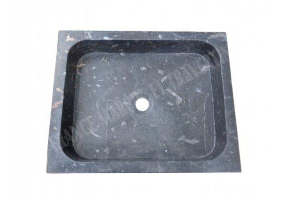 Marbre Noir Efes Sun Évier 40x50x12 cm Poli 1