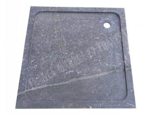 Marbre Noir Bac A Douche 90x90x5 cm 1