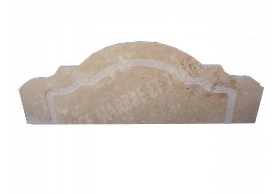 Travertin Classique Crédence 120x43x3 cm Adouci 1