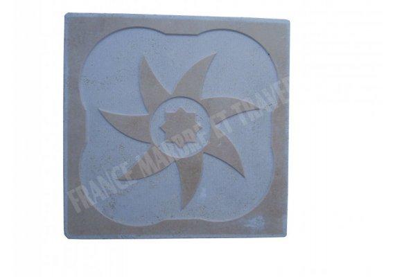 Travertin Classique Décor Gravure 30x30x1 cm Adouci 1