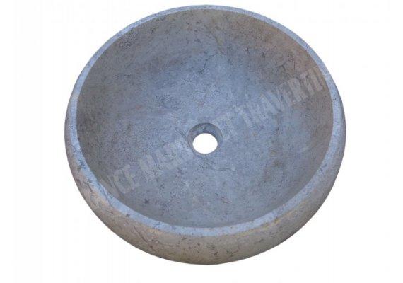 Marbre Silver Shadow Vasque Lentille Poli 1