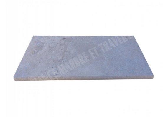 Travertin Classique Nez de Marche 30,5x61x3 cm Arrondi  1
