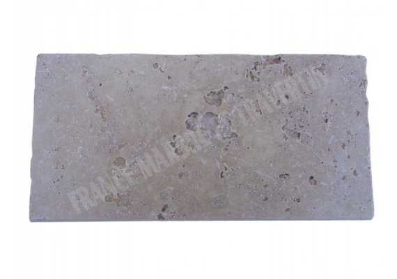 Travertin Classique Nez de Marche 20x40x3 cm Ogee  1