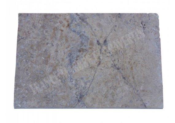 Travertin Gris Nez de Marche 40x60x3 cm Arrondi   1