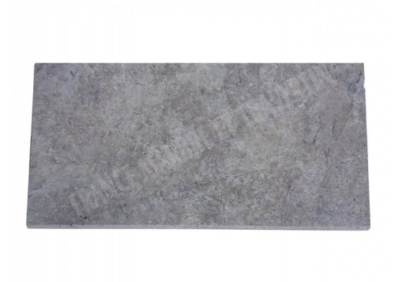 Travertin Silver Nez de Marche 30,5x61x3 cm Arrondi   1
