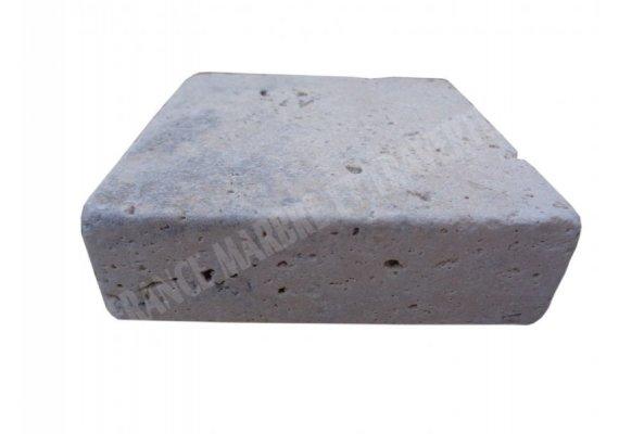 Travertin Classique Nez de Marche 10x10x3 cm Droit  1