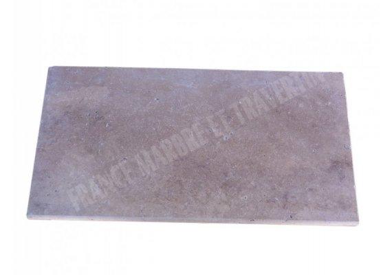 Travertin Classique Nez de Marche 30,5x61x5 cm Ogee   1