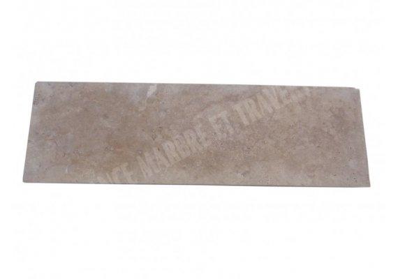 Travertin Classique Nez de Marche 120x30x5 cm Droit  1