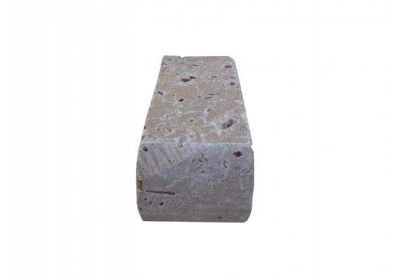Travertin Classique Nez de Marche 10x23x10 cm Arrondi  1